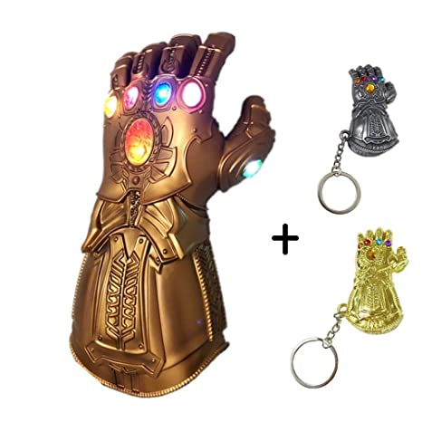 SDFXCV Thanos Guantes,Avengers Cosplay Infinity LED ...
