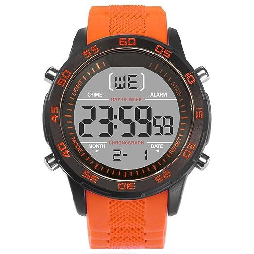 Reloj hombres Reloj De Silicona Para Hombre Con Esfera Grande Y Reloj Deportivo De Alta Gama
