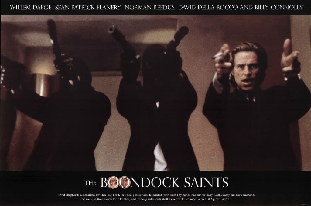 Boondock Saints Flanery Dafoe Movie Poster 24 x 36 inches