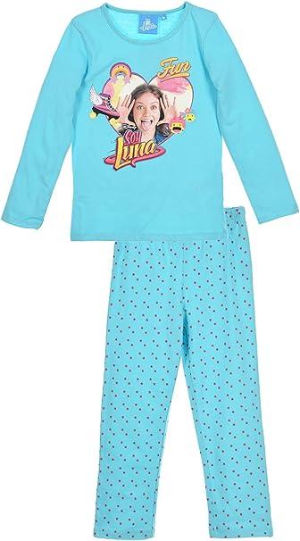 Soy Luna - Pijama - para niña azul 12 Años: Amazon.es: Ropa