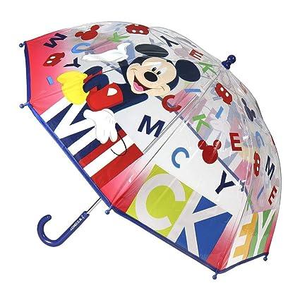 Paraguas Mickey Letras: Amazon.es: Hogar