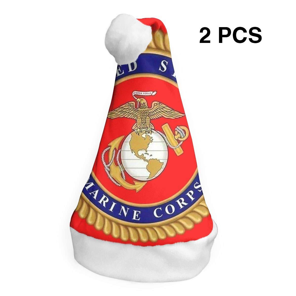 Amazon com: LoveBea Christmas Hat USMC Marine Corps Santa Hats Xmas