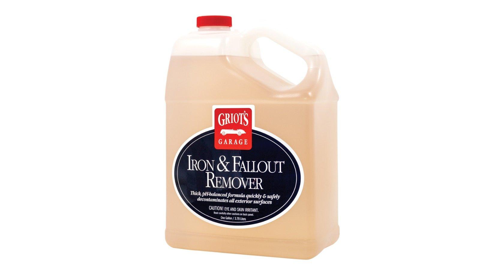Griot's Garage 10949 Iron & Fallout Remover Gallon