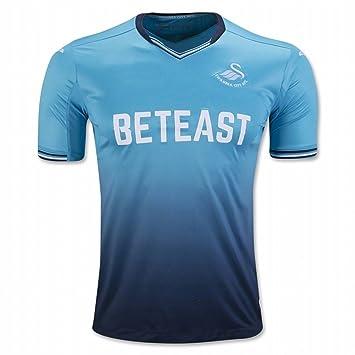 2016 2017 Swansea City AFC camiseta de Jack corcho Leon Britton Away fútbol fútbol Jersey de flores en azul, hombre, azul, small: Amazon.es: Deportes y aire ...