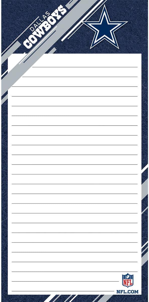 Turner Sports Dallas Cowboys 2 Pack List Pad (8129102)