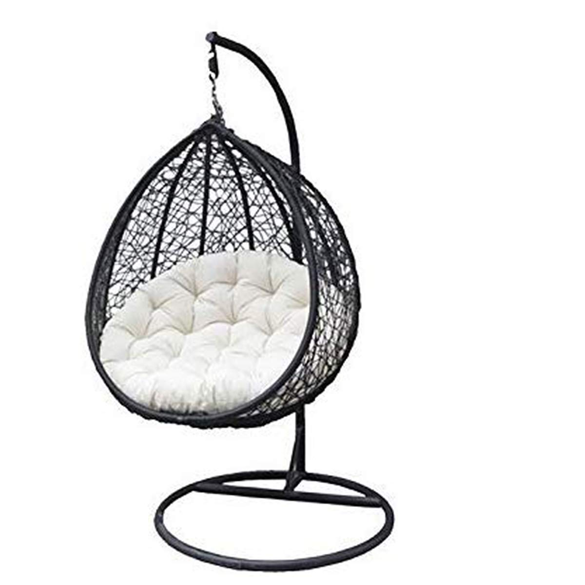 Carry Bird Swing Chair With Stand Cushion Hook Color Black For 1outdoor Indoor Balcony Garden Patio Amazon In Electronics
