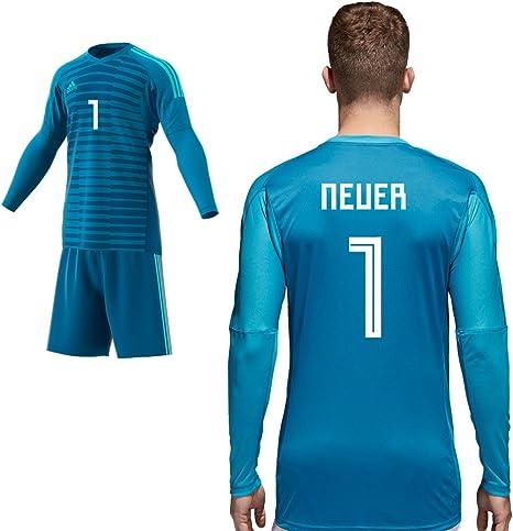 adidas Home Match Camiseta de portero Azul temporada 2018 2019 ...