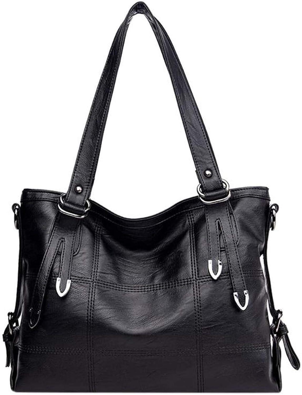 Large Women Handbags Pu Leather Shoulder Bag Female Large Tote Handbag Ladies Shoulder Bag