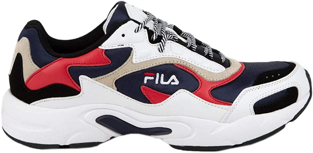 Fila Luminance Baskets pour Homme, Blanc (White Combo), 46