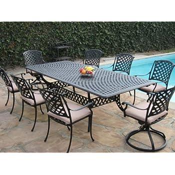 Amazon Com Cast Aluminum Outdoor Patio Furniture Piece