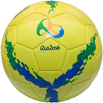 Buy Unique Rio 2016 Olympic Official Professional Football Ball Soccer Ball  Size 5 Online at Low Prices in India - Amazon.in 24aacc26c0f6