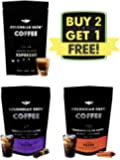 Colombian Brew Coffee Espresso 100g, Vanilla Filter 100g, Cinnamon Filter, 100g Buy 2 Get 1 Free, 300 g