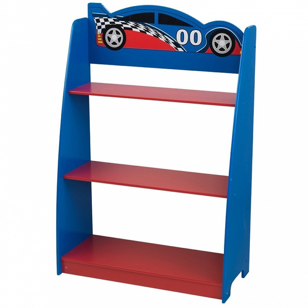 KidKraft Racecar Bookcase (Discontinued by Manufacturer) 76041