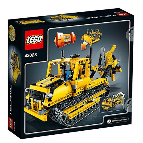 LEGO-Technic-Bulldozer-vehculo-de-juguete-42028