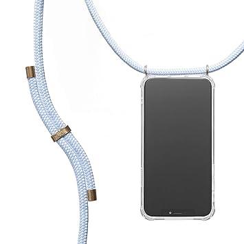 Hecho a Mano en Berlin con Cordon para Llevar en el Cuello KNOK case KNOK Carcasa de movil con Cuerda para Colgar iPhone 7//8 Funda para iPhone//Samsung//Huawei con Correa Colgante