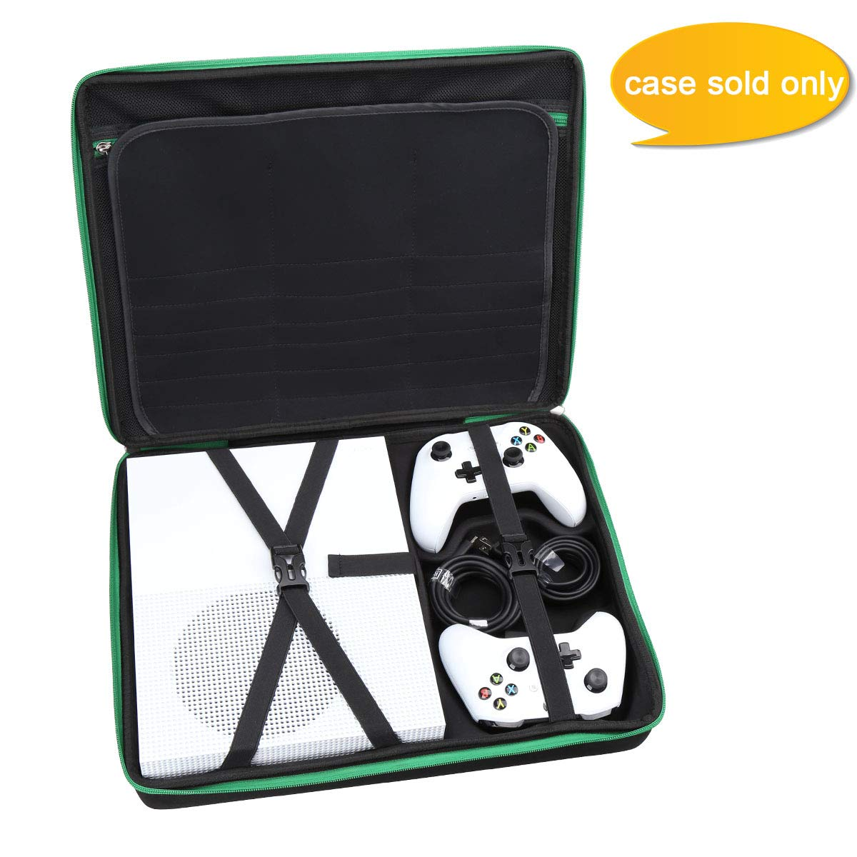 Aproca Hard Carry Travel Case Compatible with Microsoft Xbox One S 1TB Console