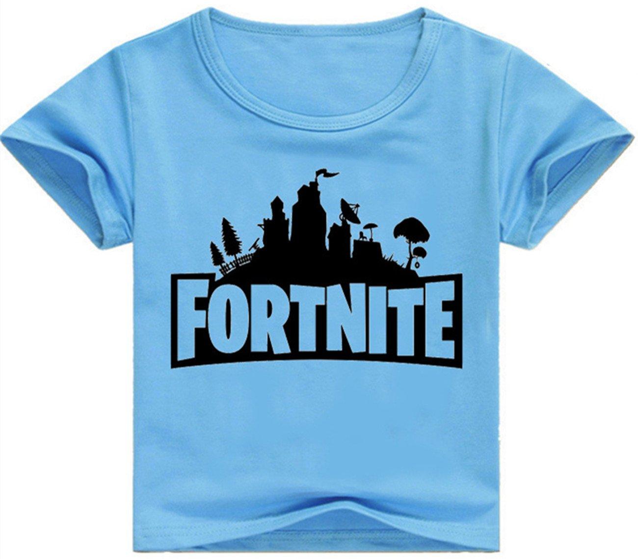 SERAPHY Unisex T-Shirt Fortnite Magliette Top Manica Corta per Ragazzo