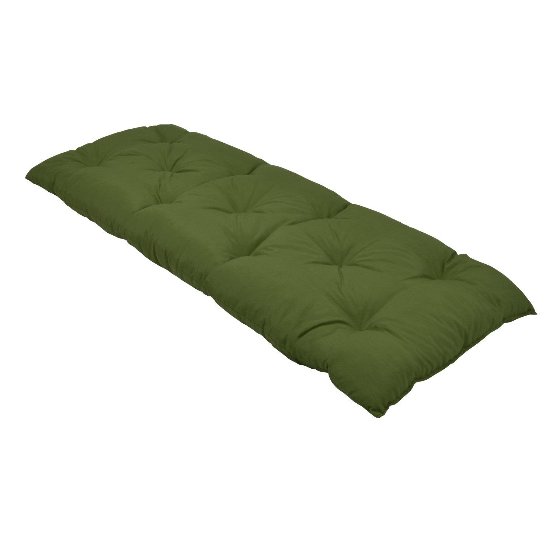 Beautissu Cojines para Bancos Flair BK 150x50x10 cm Cómodo Acolchado Banco de jardín/Columpio Hollywood Verde: Amazon.es: Jardín