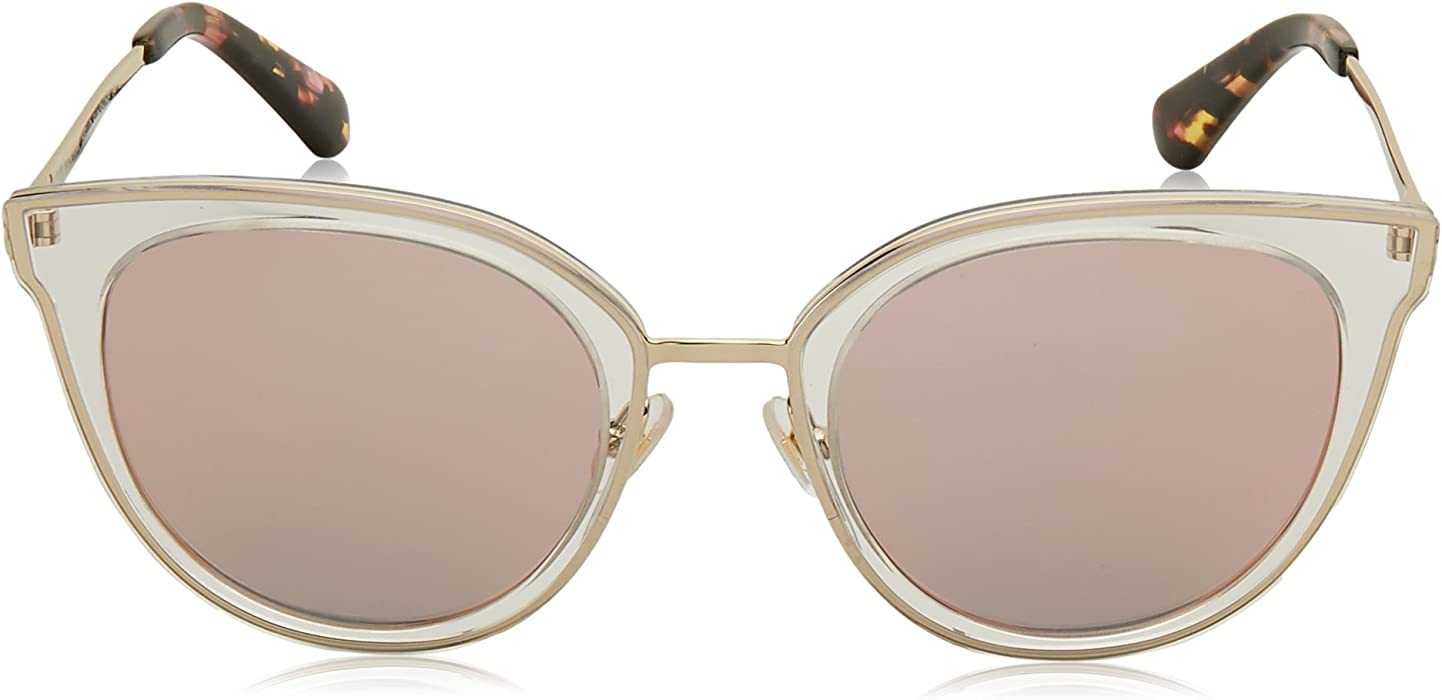 7ce0cee58c211 Kate Spade Women s Jazzlyn s Round Sunglasses PINK GOLD 51 mm. Back.  Double-tap to zoom
