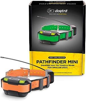 Dogtra Pathfinder Mini Receptor Adicional de 4 Millas 21 Perras, Extensible, Impermeable, con GPS, rastreo y Entrenamiento, Mini Collar E, Anaranjado