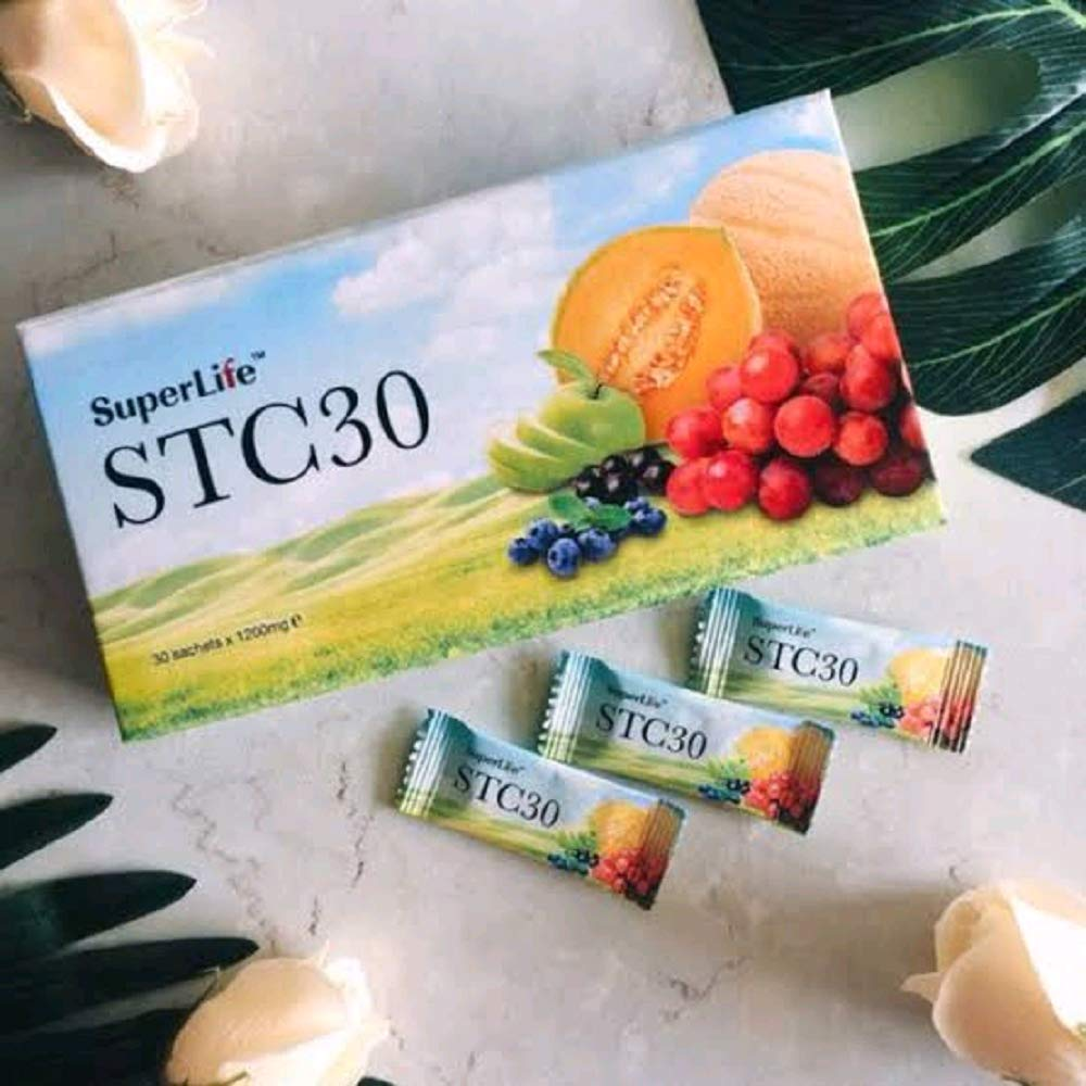 Superlife Stc30,Boost Immunity,Buy2pks@68p1,4pks@66p1,6pks@64p1,8pks@61p1) Helps Vision,Anti-Aging,Restore Hormonal Level and Boost Bedroom Performance!Improves Health Condition(1pk,15sct)