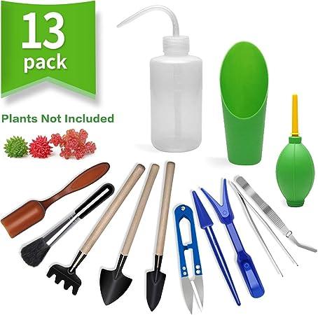 Amazon Com 13 Pieces Mini Garden Hand Tools Transplanting Tools