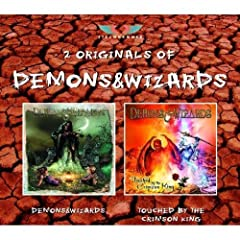 Demons & Wizards / Touched By the Crimson King
