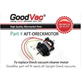 goodvac motor for oreck upright vacuum cleaner, replaces part number  097550501