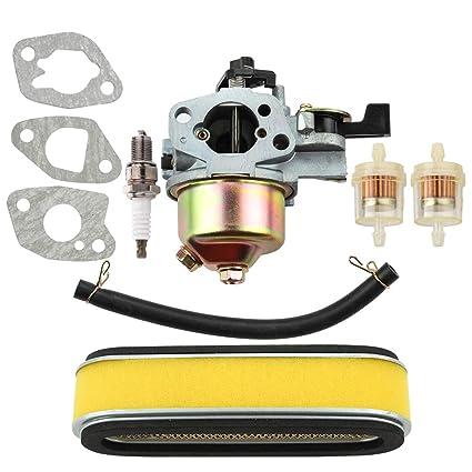 Amazon.com: Leopop Carburetor con filtro de aire bujía para ...