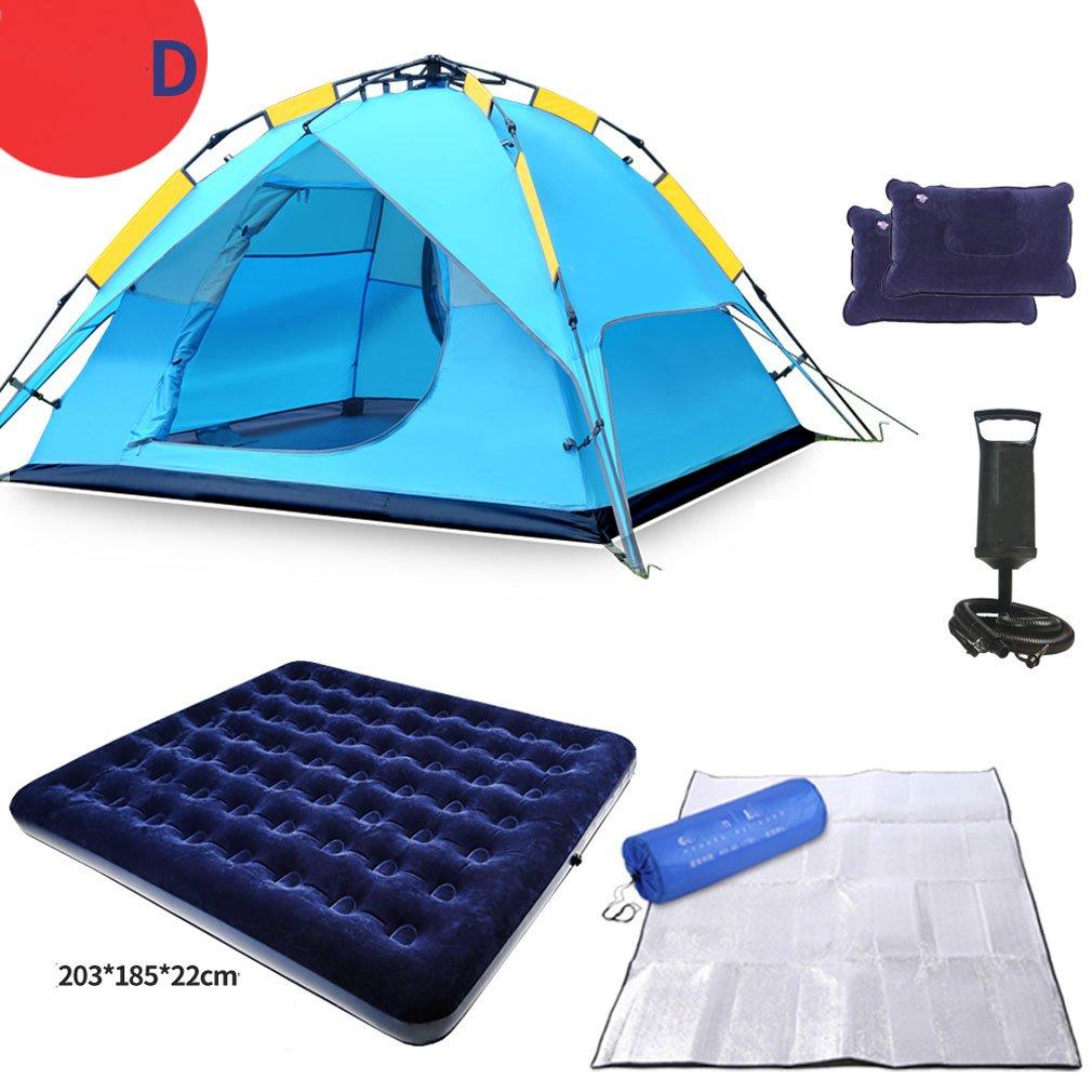 Zelte GUO - Hydraulische Kuppel Überdachung Für Camping Automatische Wasserdichte Hydraulische 3-4 Person Überdachung Einfach Zu Installieren Set
