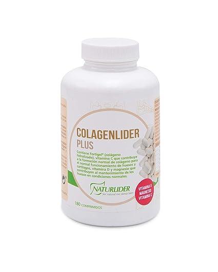 Naturlider Colagenlider Colágeno Hidrolizado FORTIGEL con vitamina C, D y magnesio- 180 Comprimidos