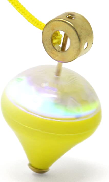 Light Up Bouncy Spinning Top