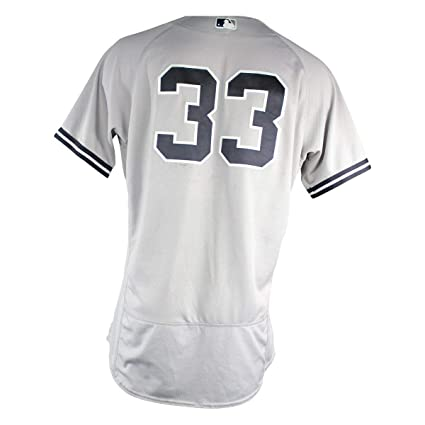 arrives ca2bf ef13f Greg Bird New York Yankees 2018 Road Game Used #33 Jersey (7 ...