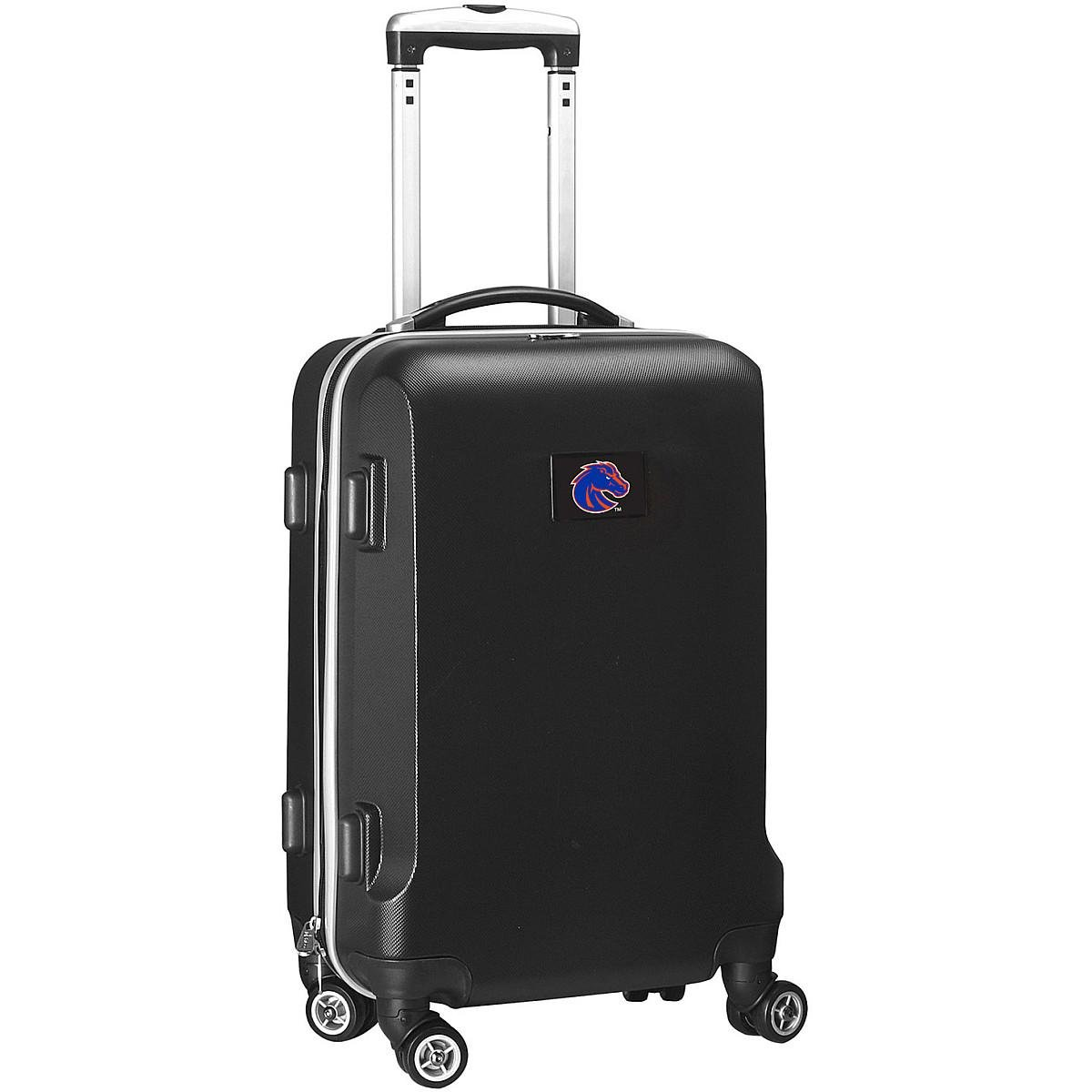 Denco NCAA Boise State Broncos Carry-On Hardcase Luggage Spinner, Black