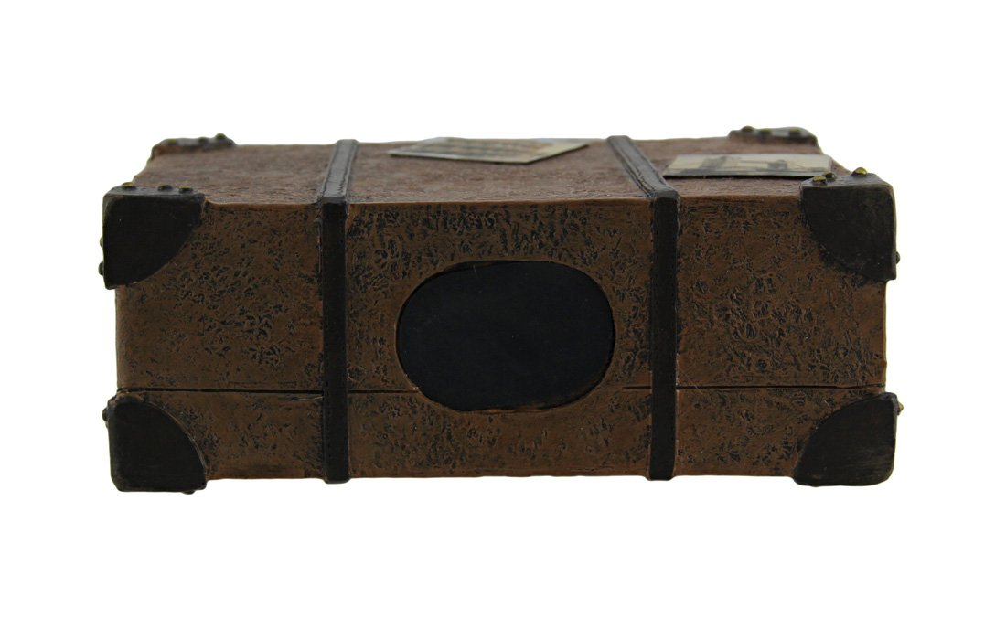 Zeckos Well Traveled Vintage Suitcase Coin Bank by Zeckos (Image #3)