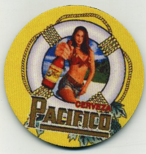 Pacifico Cerveza coaster set - Sexy Mexican Beer Tray for sale  Delivered anywhere in USA