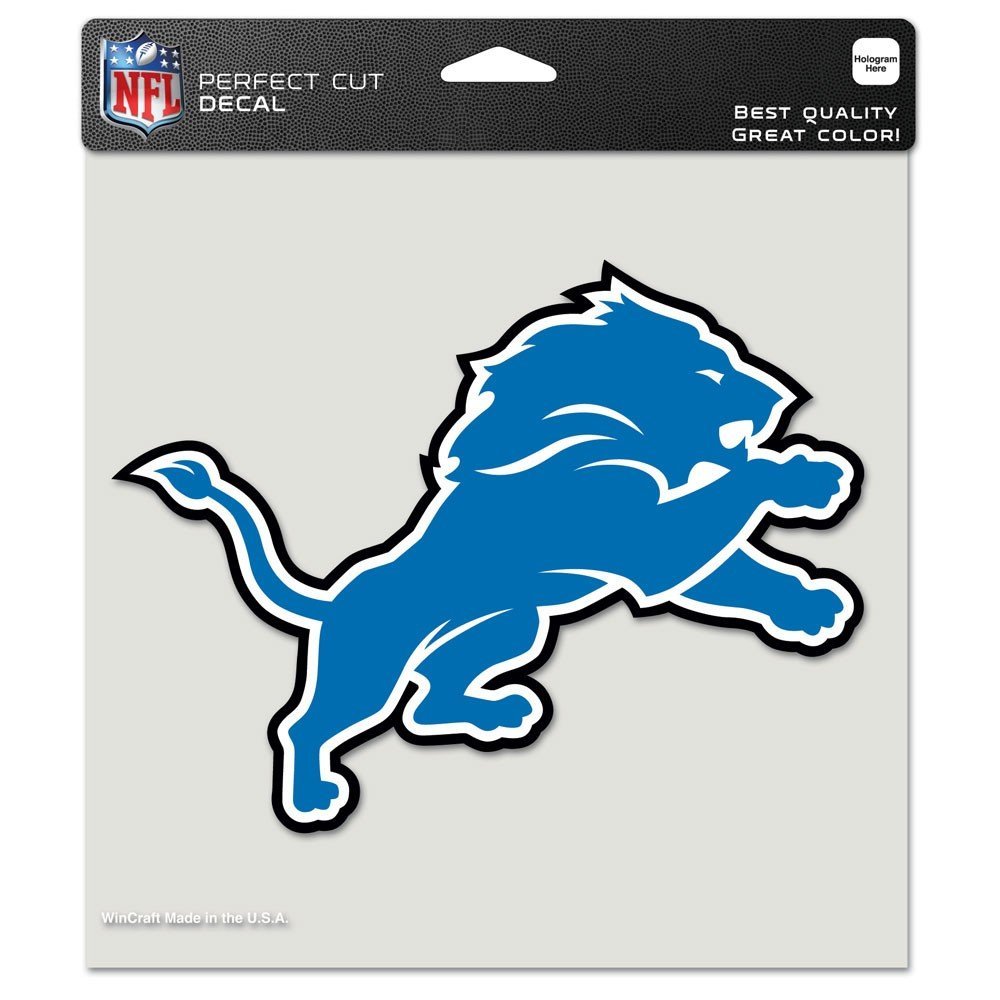 amazon com nfl 8x8 color die cut decals sports u0026 outdoors