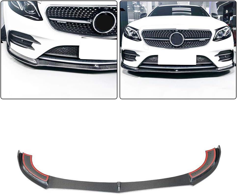 MCARCAR KIT Trunk Spoiler fits Mercedes Benz E Class W213 Sedan 2017-2019 Real Carbon Fiber E200 E250 E300 E400 E43 E63 AMG Car Rear Boot Lid Highkick Spoiler Wing Lip