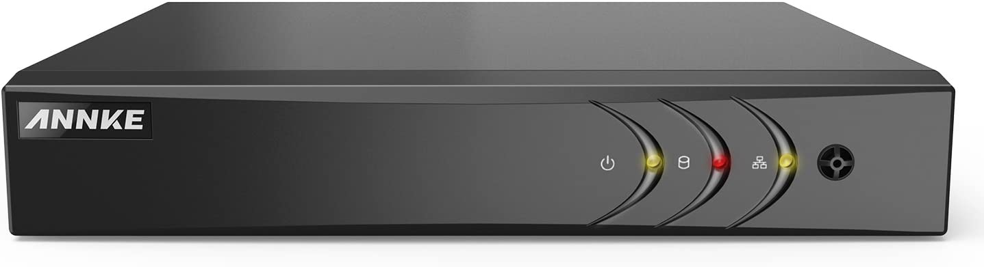 ANNKE 16-Channel HD-TVI 1080N Security Video DVR, H.264+ video Compression for Bandwidth Efficiency, HDMI and VGA Outputs both Support Up to 1080P, NO HDD