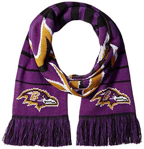 寄託トリクル安いですNFL Baltimore Ravens Big Logo Scarf