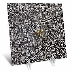 3dRose Danita Delimont - Feathers - Anderson Pheasant - 6x6 Desk Clock (dc_250200_1)
