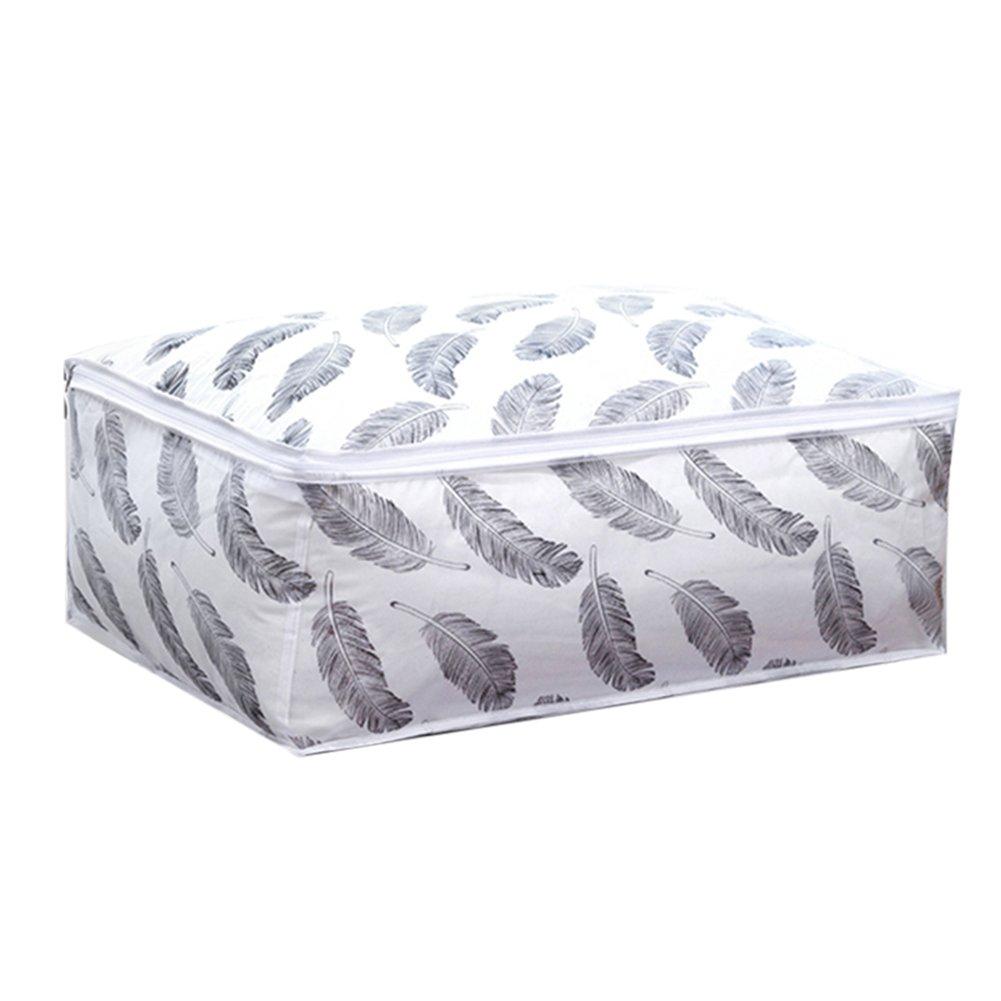 Bettwäsche Aufbewahrungstasche Aufbewahrungsbox Kleidung Organizer 55x36x20cm