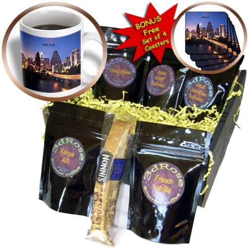 Florene America The Beautiful - Austin Texas - Coffee Gift Baskets - Coffee Gift Basket (cgb_62232_1)