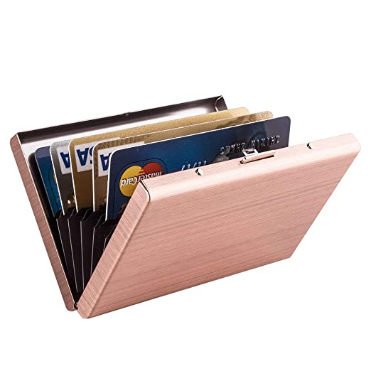best cheap 5be16 729a3 MaxGear RFID Blocking Credit Card Holder RFID Credit Card Wallet ...