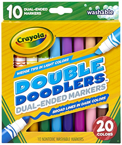 Double Doodle (Crayola Dual-Ended Washable Markers Double Doodle)