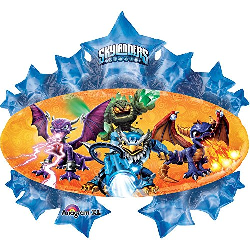 "35"" party BALLOON new SKYLANDERS giants FAVORS fun VHTF"