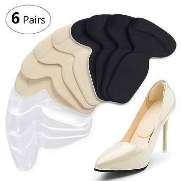 different types of shoe heels
