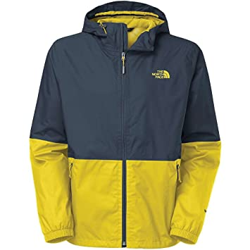 The North Face Allabout Jacket - Men s Outer Space Blue Acid Yellow ... a2f7f2b53
