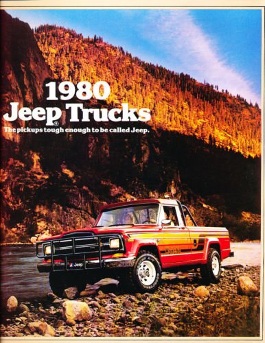 1980 Jeep Truck 14-page Original Car Sales Brochure Catalog - J-10 J-20 Honcho