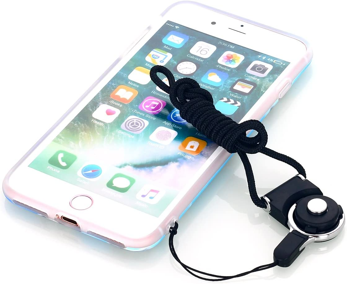 2 Pack AICase Phone Dangle Strap Lariat Charm Lanyard Cord Long Rotating Detachable Neck Clasp Strap for Cell Phone Mp3 Mp4 ID Card